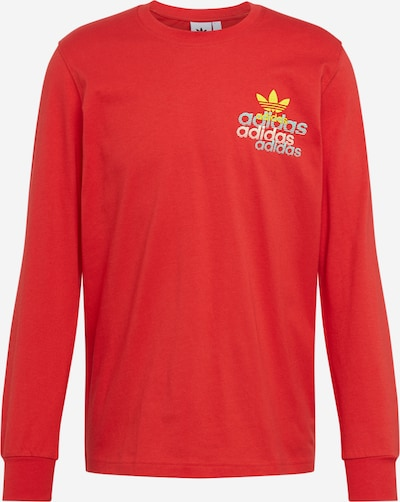 ADIDAS ORIGINALS Shirt in rot, Produktansicht