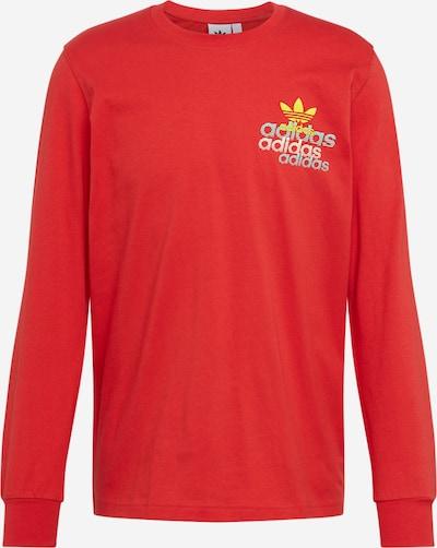 ADIDAS ORIGINALS T-Shirt en rouge, Vue avec produit