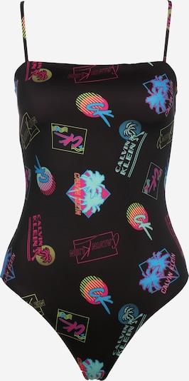 Calvin Klein Underwear Badeanzug 'Bandeau ' in mischfarben / schwarz, Produktansicht