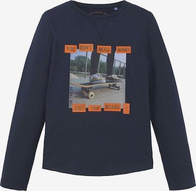 TOM TAILOR T-Shirt in nachtblau, Produktansicht