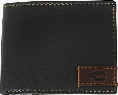 CAMEL ACTIVE Wallet in Dark brown: Frontal view