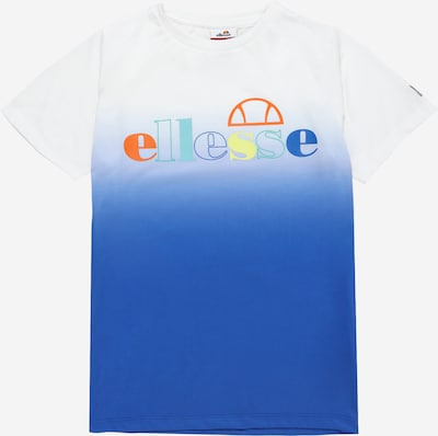ELLESSE T-Shirt 'Telo' en bleu / blanc, Vue avec produit