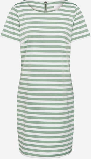 VILA Jerseykleid 'VITinny New' in grün / weiß, Produktansicht