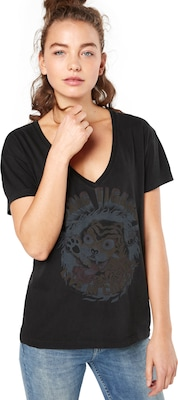 Tigha T-Shirt 'Toxic Tiger WSN'