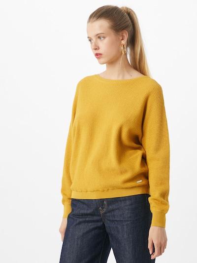 ESPRIT Pullover in gelb, Modelansicht