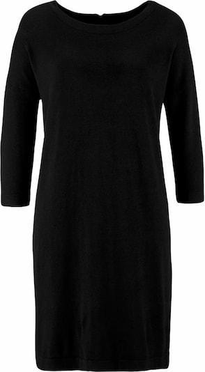 VERO MODA Strickkleid 'VMGlory Vipe Aura' in schwarz: Frontalansicht