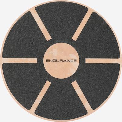 ENDURANCE Balance Board in hellbraun / schwarz, Produktansicht