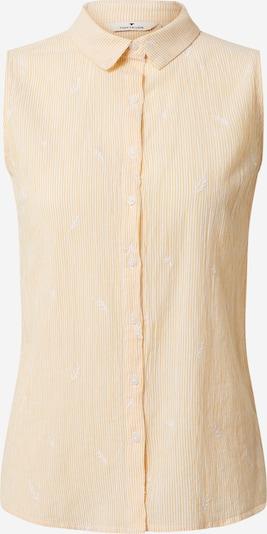 TOM TAILOR Bluse in gelb / weiß, Produktansicht