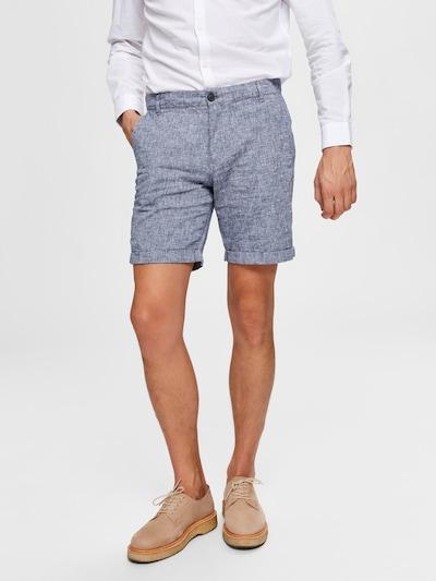 SELECTED HOMME Shorts in blaumeliert: Frontalansicht