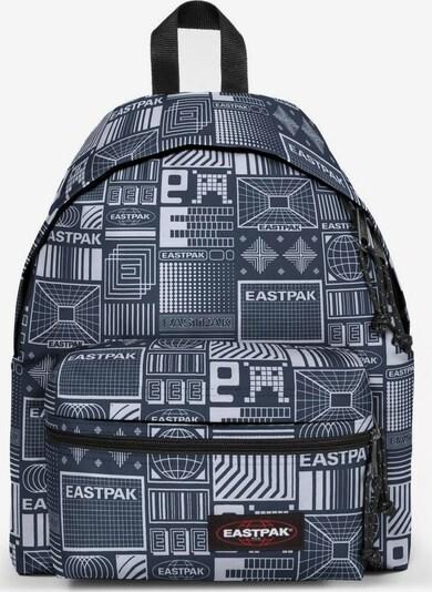 EASTPAK Rugzak 'Padded Zippl'r' in de kleur Duifblauw / Zwart / Wit, Productweergave