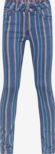 WE Fashion Jeans 'Nora' in blau / helllila / weinrot, Produktansicht