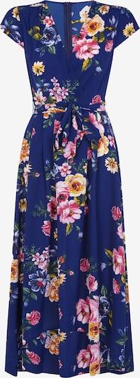 Mela London Kleid in navy / mischfarben / orange, Produktansicht