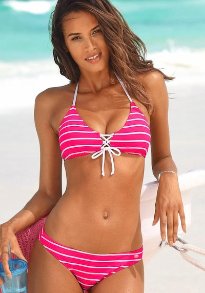 KangaROOS Bikini u fuksija / bijela, Pregled proizvoda
