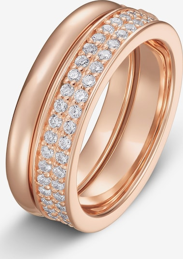 JETTE Ring in rosegold, Produktansicht