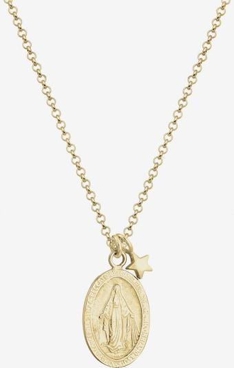 ELLI Kette 'Marienbild, Sterne' in gold, Produktansicht