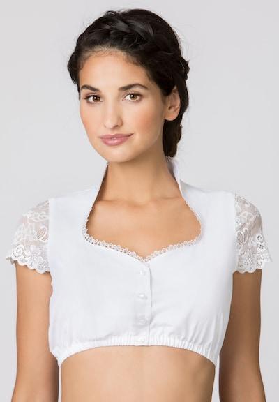 STOCKERPOINT Trachtenbluse in weiß, Modelansicht