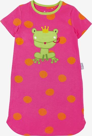 SIGIKID Nachthemd in orange / pink: Frontalansicht