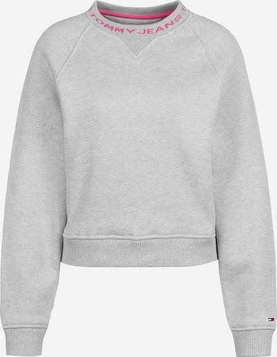 Tommy Jeans Sweatshirt 'Branded Neck' in grau, Produktansicht