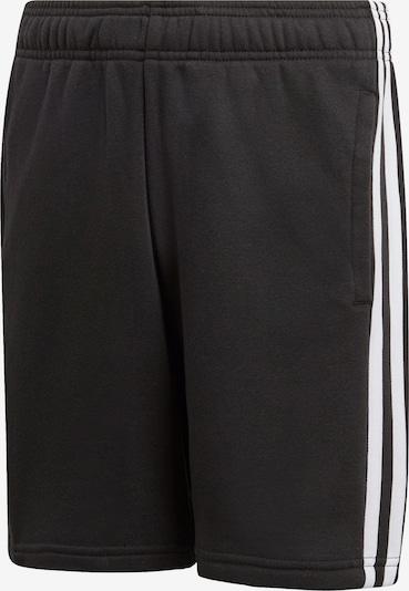 Pantaloni sport 'Essentials' ADIDAS PERFORMANCE pe negru / alb, Vizualizare produs