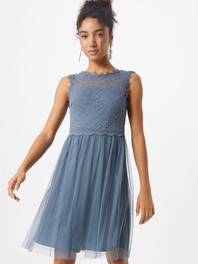 VILA Kleid in taubenblau, Modelansicht