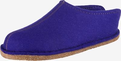 HAFLINGER Pantoffeln 'Flair Smily' in dunkellila, Produktansicht