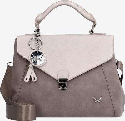 SANSIBAR Handtasche in taupe / hellgrau, Produktansicht