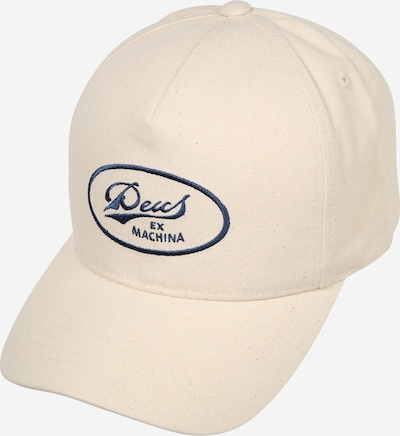 DEUS EX MACHINA Cap  'John Lee Trucker' in blau / weiß, Produktansicht