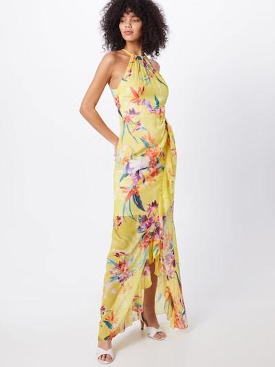 Lipsy Kleid 'WS MIA PRINT MAXI' in gelb / mischfarben, Modelansicht