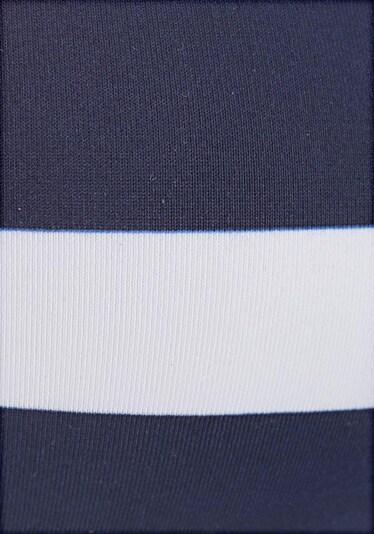 KangaROOS Triangel-Top in navy / apricot / weiß, Produktansicht