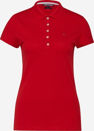 TOMMY HILFIGER Poloshirt 'Chiara' in rot, Produktansicht