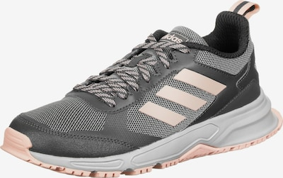 ADIDAS PERFORMANCE Chaussure de course 'Rockadia Trail 3.0' en gris argenté / rose clair / blanc, Vue avec produit