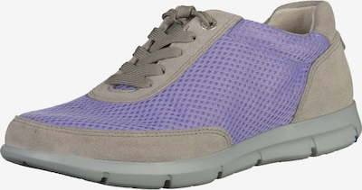 BIRKENSTOCK Sneaker 'Manitoba' in greige / helllila, Produktansicht