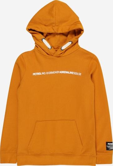 Petrol Industries Sweatshirt in senf / weiß, Produktansicht