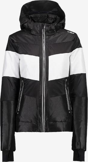 CMP Jacke in schwarz / weiß, Produktansicht