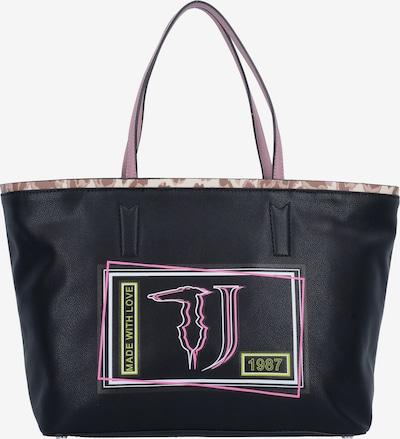 Trussardi Jeans Shopper 'Liquirizia' in altrosa / schwarz, Produktansicht
