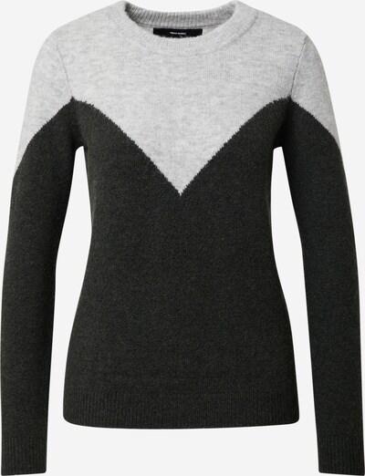Vero Moda Petite Pulover u svijetlosiva / crna, Pregled proizvoda