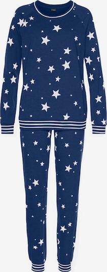 kék / fehér VIVANCE Pizsama, Termék nézet