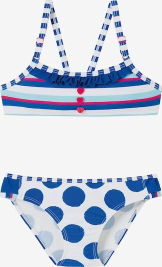 SCHIESSER Bikini in blau / rot / weiß, Produktansicht