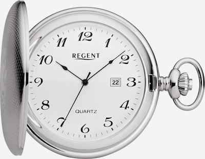 REGENT Taschenuhr '11380048' in silber / weiß, Produktansicht
