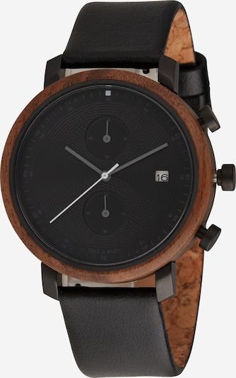 TAKE A SHOT Analogové hodinky 'Charles' - hnědá / černá, Produkt
