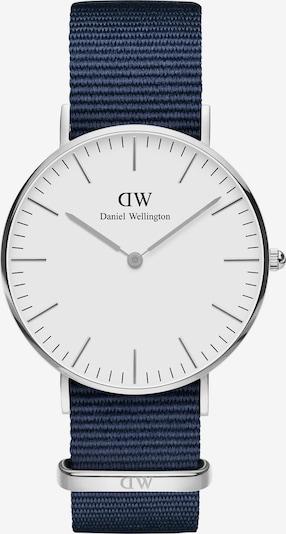Daniel Wellington Uhr in navy / silber / weiß, Produktansicht