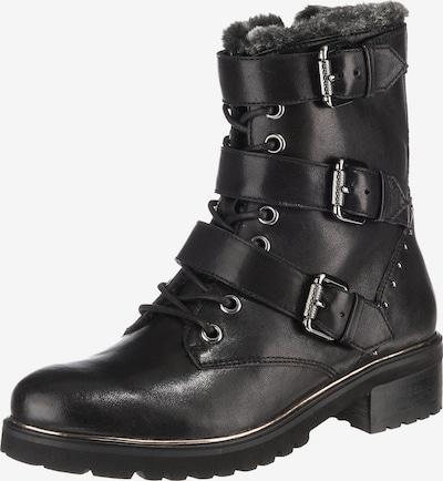 SPM Schnürstiefeletten 'Loftfur' in schwarz, Produktansicht