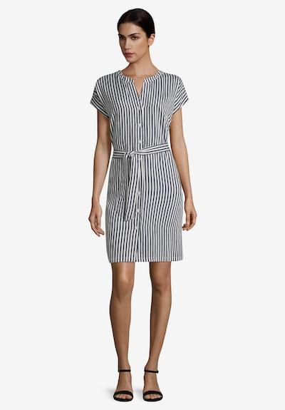 Betty & Co Hemdblusenkleid mit Streifen in dunkelblau / weiß, Modelansicht