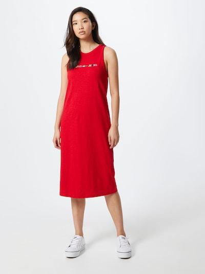 Tommy Jeans Kleid in mischfarben / hellrot, Modelansicht