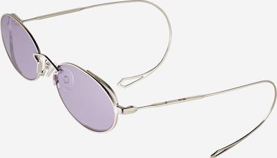 McQ Alexander McQueen Sonnenbrille in lila / silber, Produktansicht