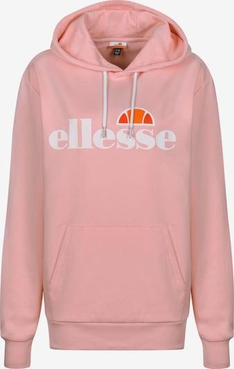 ELLESSE Sweatshirt 'Picton' in orange / altrosa / rot / weiß, Produktansicht