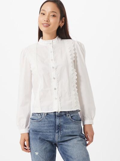 ONLY Bluse 'WILD' in weiß, Modelansicht