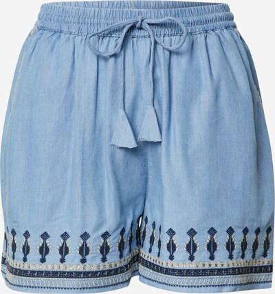 Pepe Jeans Pantalon 'Tora' en beige / bleu / bleu clair, Vue avec produit