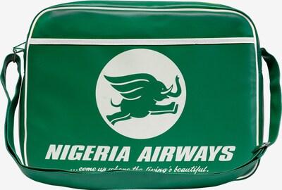 LOGOSHIRT Tasche 'Nigeria Airways' in grün / weiß, Produktansicht