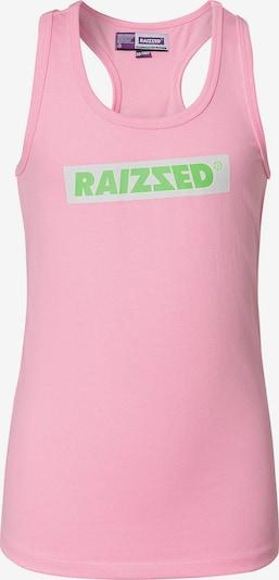 Raizzed Top 'Phoenix' in hellgrau / grün / rosa, Produktansicht
